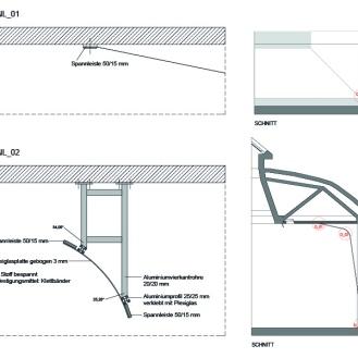 Wandverkleidung / Projektionsflächen