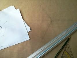 1:1 Schablone für den Prototypenbau