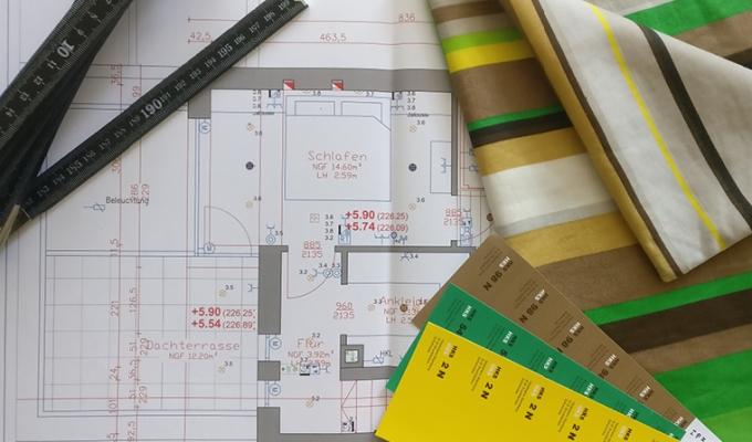 Innenarchitekten suchen doch nur Vorhänge und Tapeten aus. Odernicht?