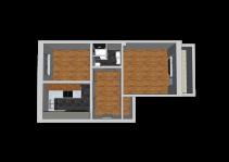 Grundriss 3D Perspektive